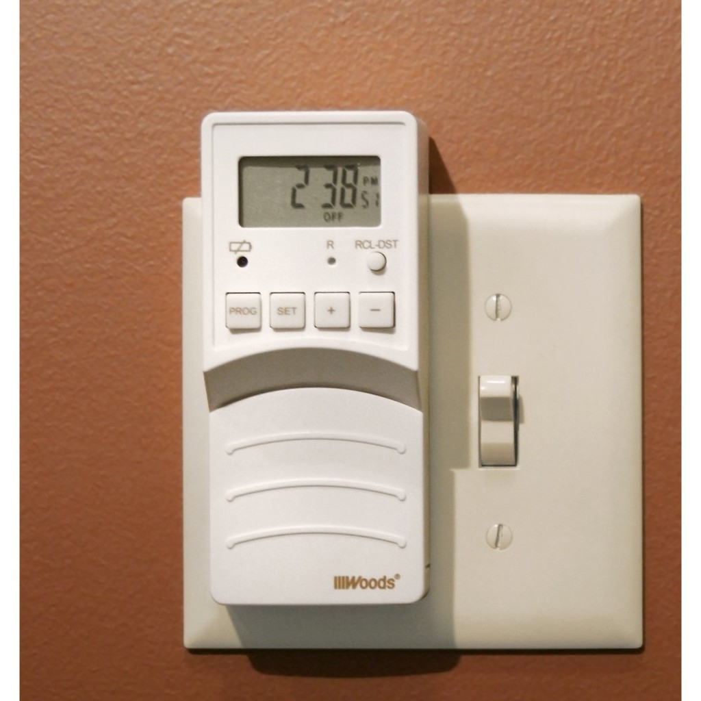 Inexpensive Home Security – Woods Flip Switch Timer – Blackhawk Hardware