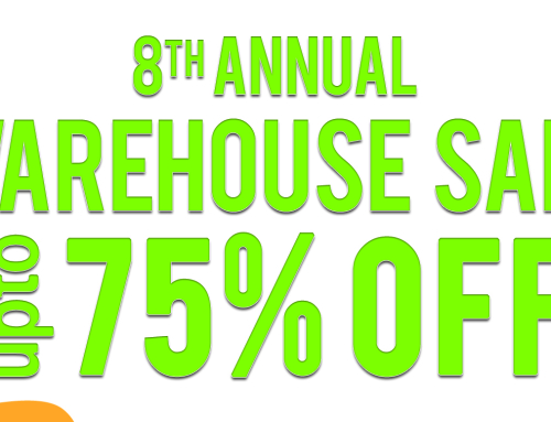 Our 8th Annual Warehouse Sale September 11, 12, 13, 14