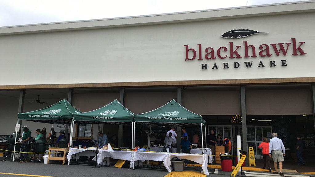 Blackhawk Hardware – Big Green Egg Grills, Charlotte