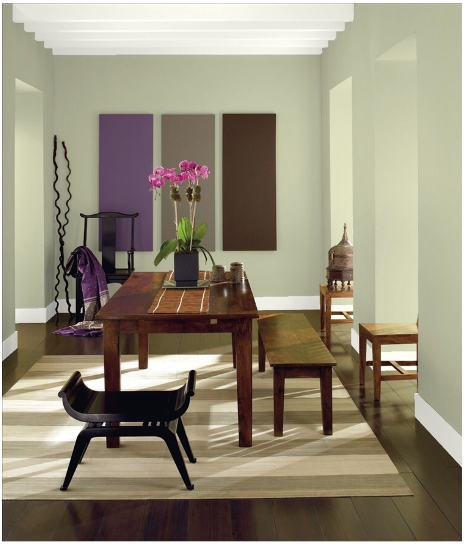 Etonnant View Larger Image Benjamin Moore Guildford Green Color Of The Year 2015  Dining Room