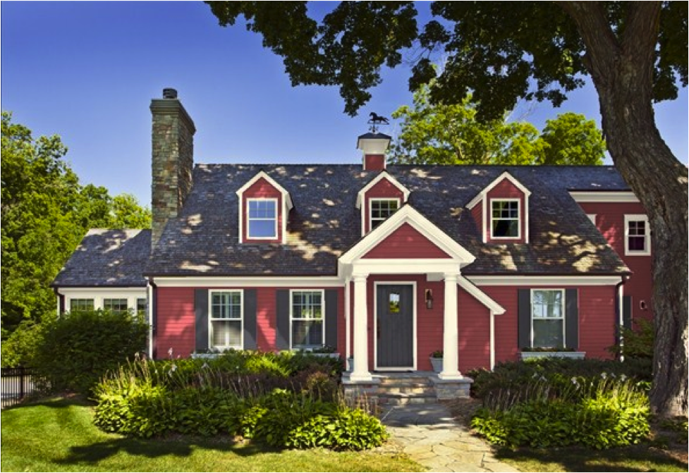 Elegant Best Red Exterior Paint Colors