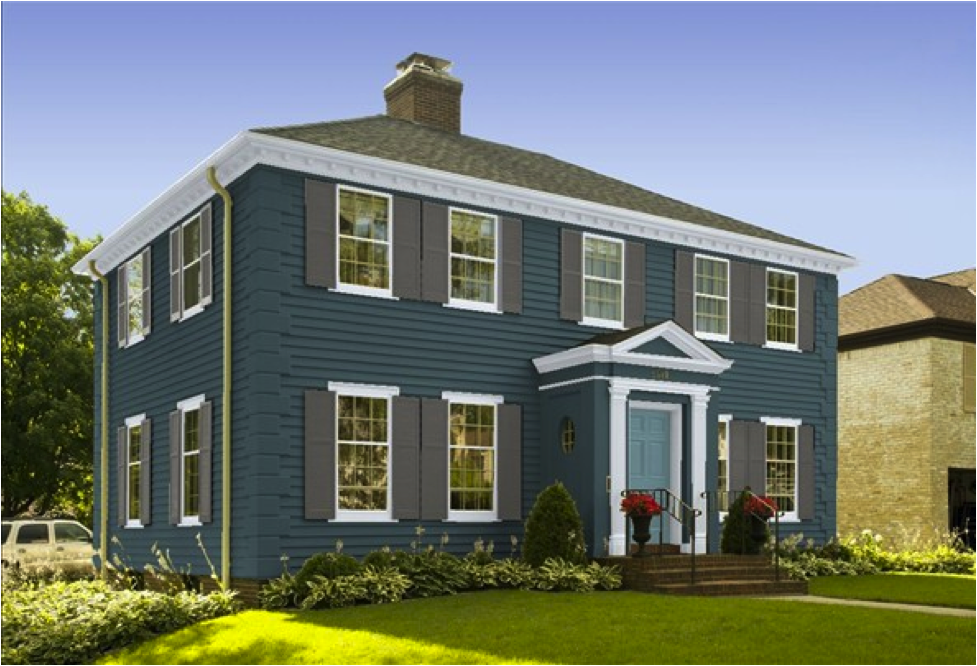 Amazing Colorful Exterior Paint Color Schemes Worthy Of A Glossy Magazine Largest Home Design Picture Inspirations Pitcheantrous