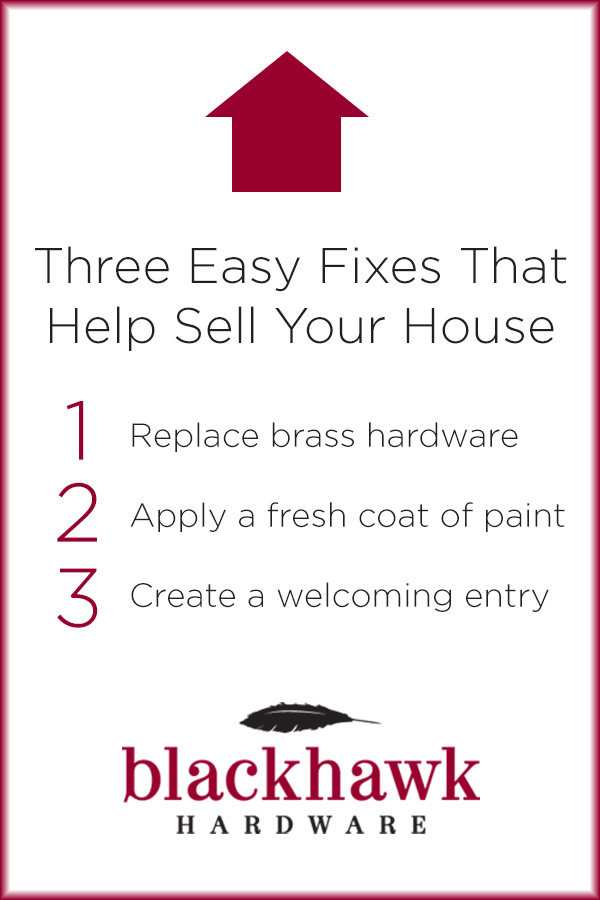 Easy Fixes to Help Sell A House