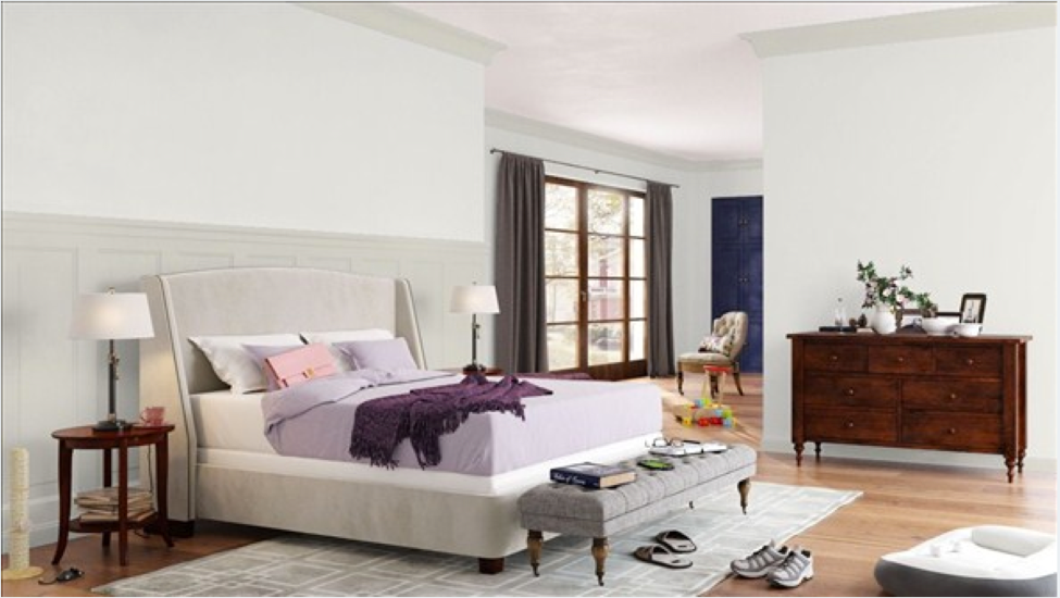 Calm Is A Wonderfully Soothing Paint Hue For Bedrooms