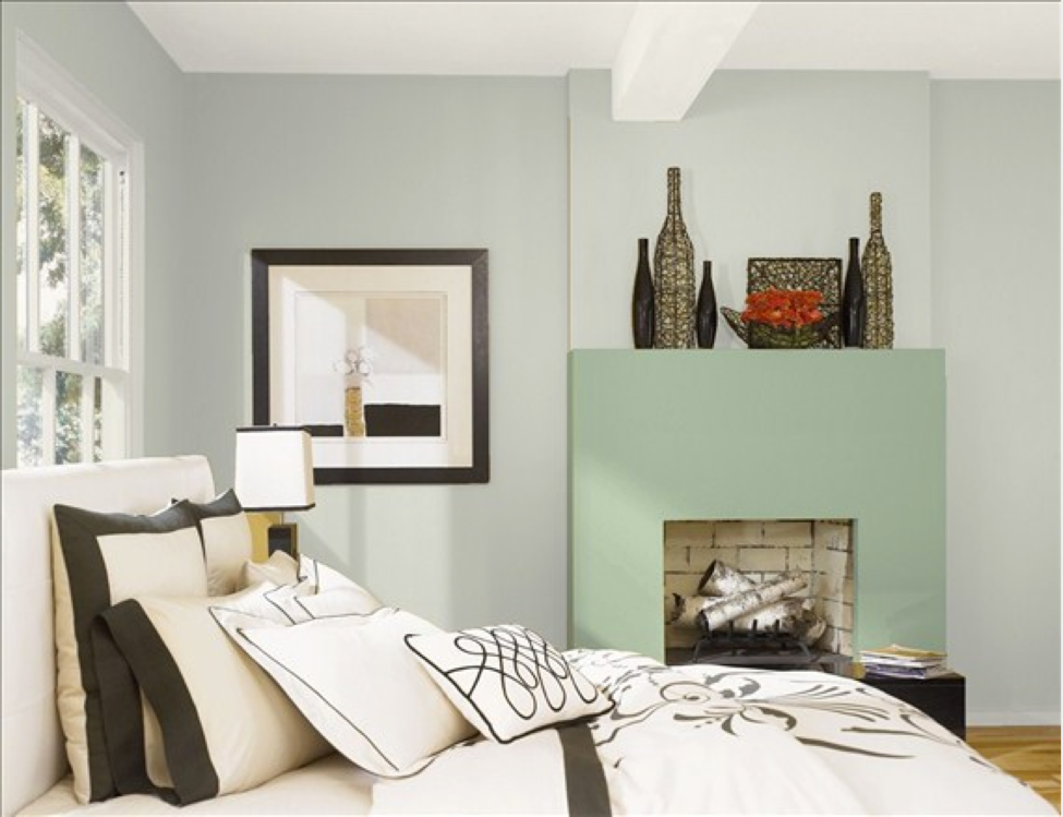 Calming paint colors for bedrooms blackhawk hardware - Bedroom wall paint colors ...