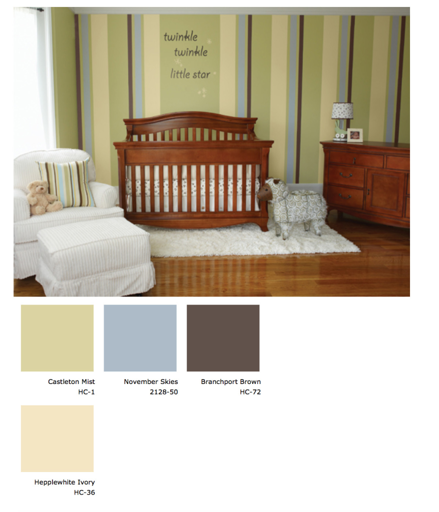 Your Little One Will Love These 8 Gender Neutral Nurseries: Chic And Safe Nursery Paint From Benjamin Moore