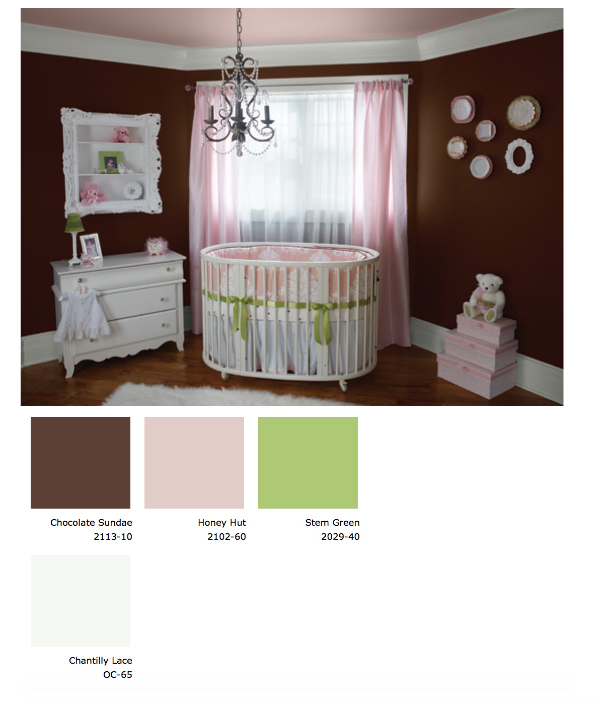 Bold Baby Nursery Ideas With Benjamin Moore Paint