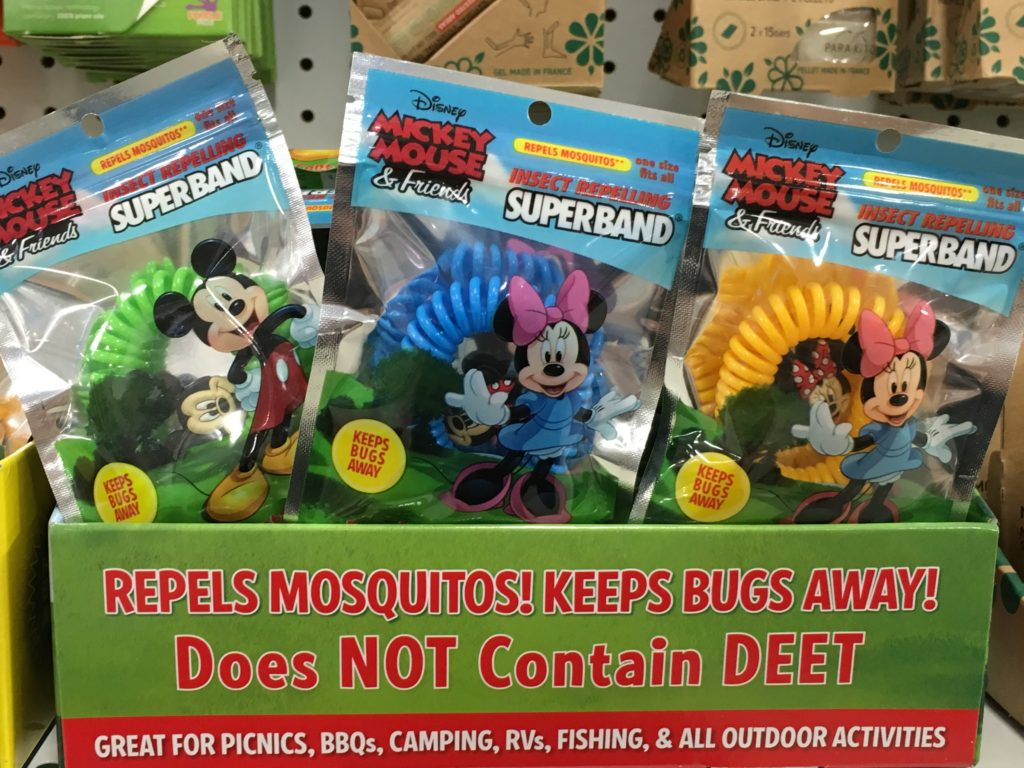 Natural mosquito control with SuperBand