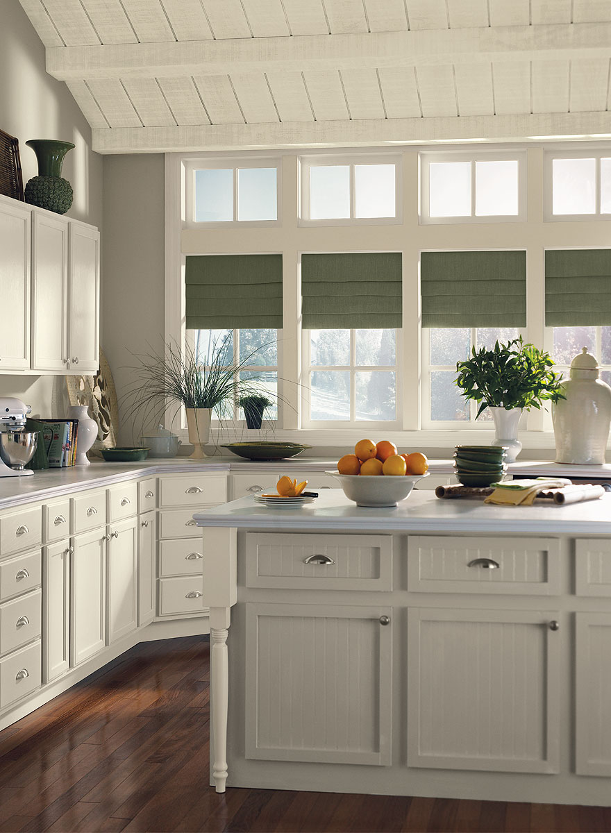 The most versatile interior paint color benjamin moore for Grey kitchen cabinets what colour walls