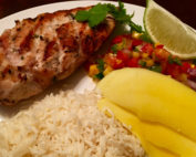 Tropical Island Grilled Chicken Breast Recipe for the Big Green Egg