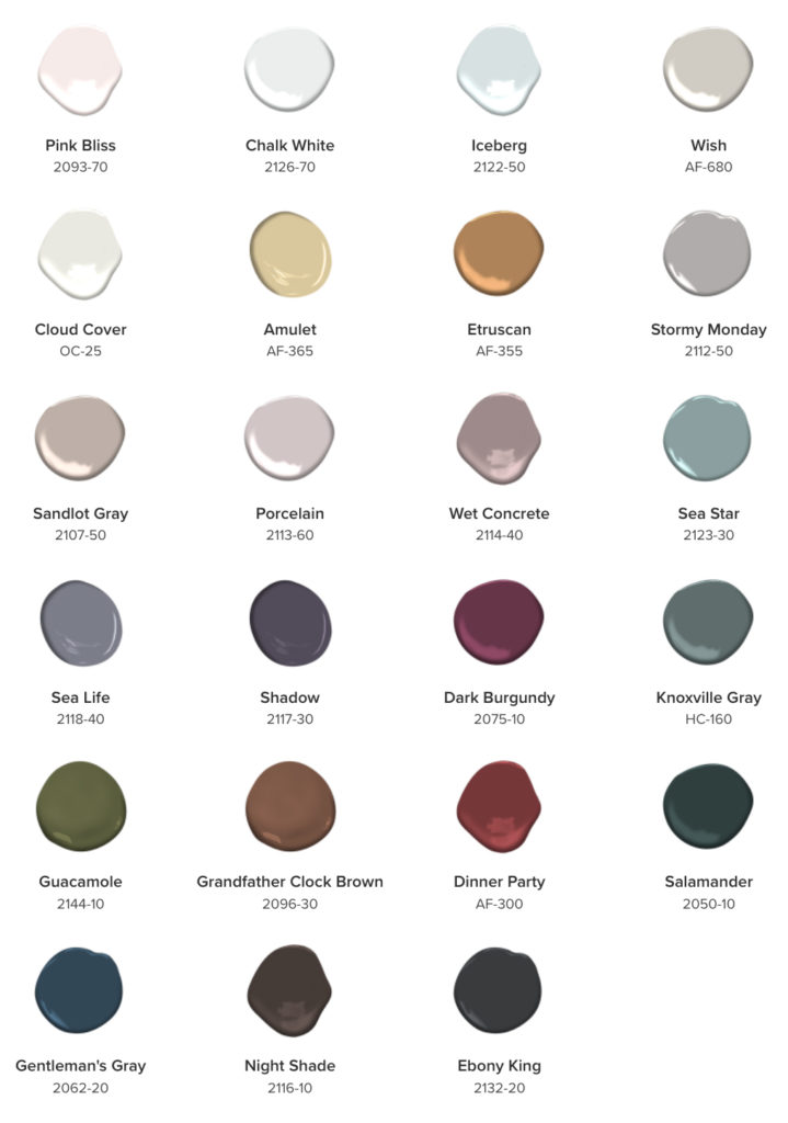 23 Paint Colors That Will Shine In 2017