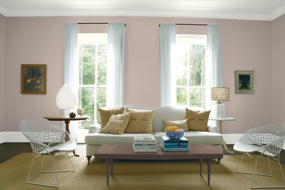 an on trend color from benjamin moore 39 s 2017 color trend collection