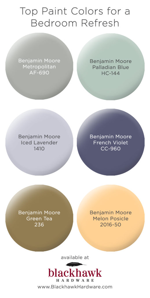 Keep things fresh in the bedroom with these benjamin moore for Paint colors to sell your home 2017
