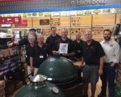Blackhawk Hardware is an authorized Big Green Egg Platinum Dealer