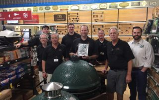 Blackhawk Hardware is an authorized Big Green Egg Platinum Dealer