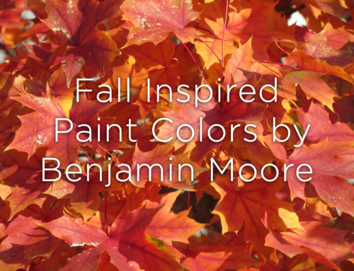 Fall Inspired Paint Colors by Benjamin Moore