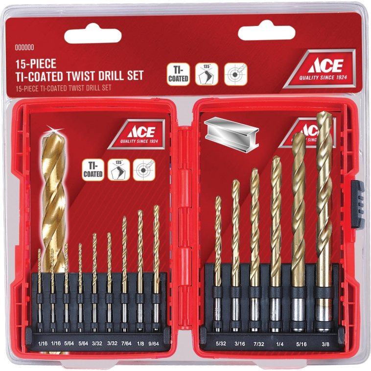 Drill bits are essential tools for any toolbox.