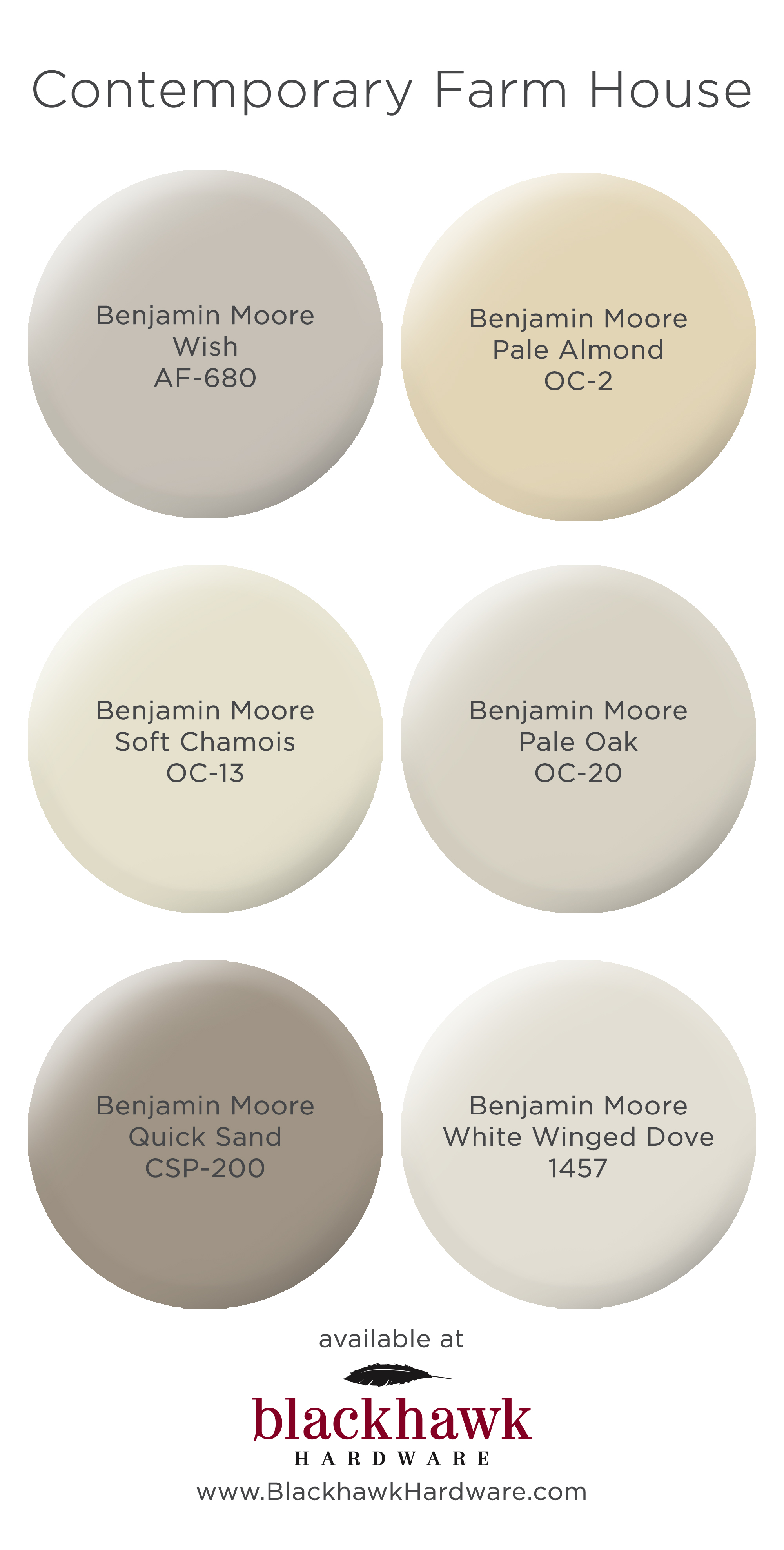 Paint colors for modern farm house interior design - Benjamin moore interior paint colors ...