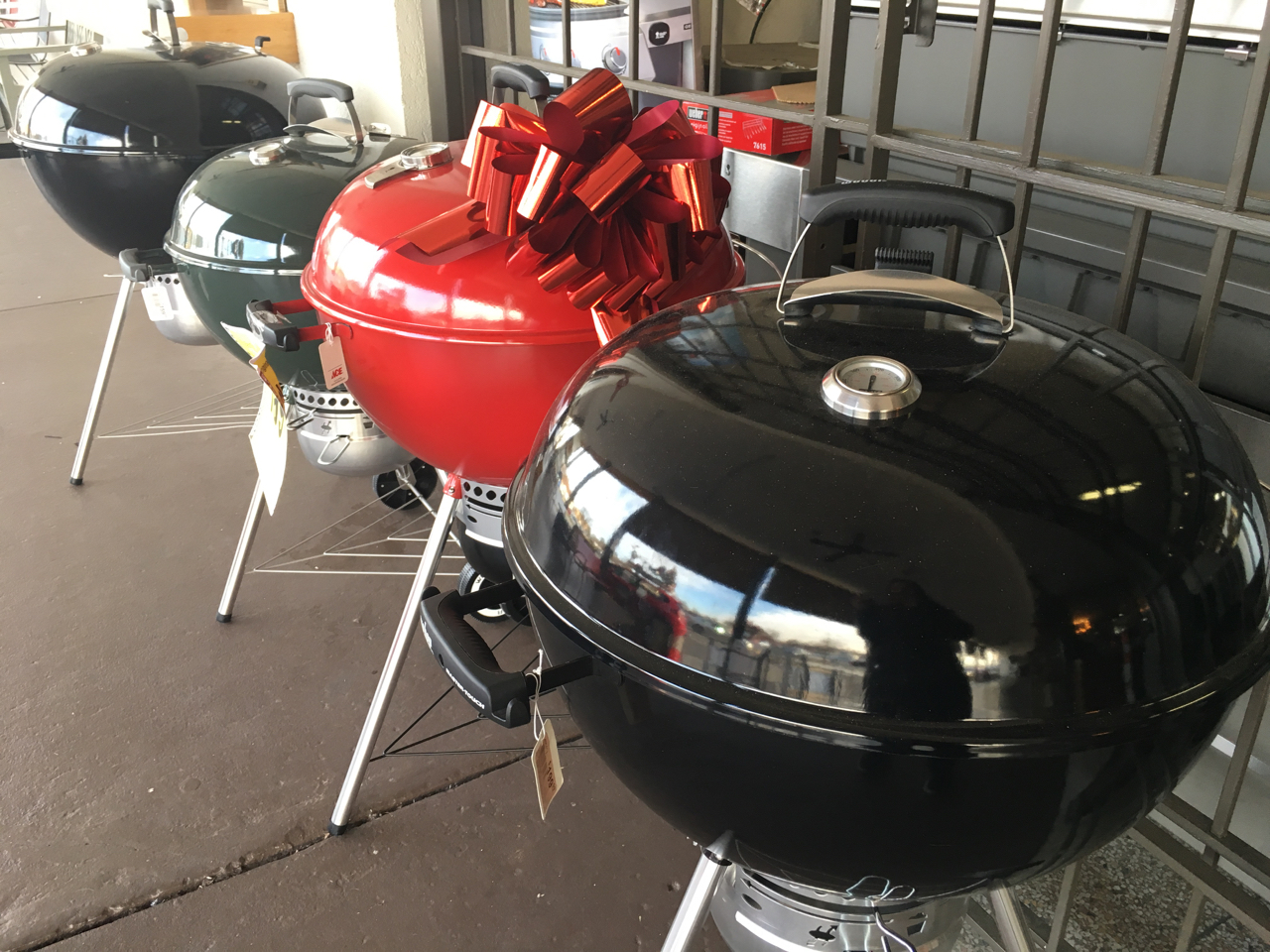 Give the gift of gatherings with an original Weber grill!