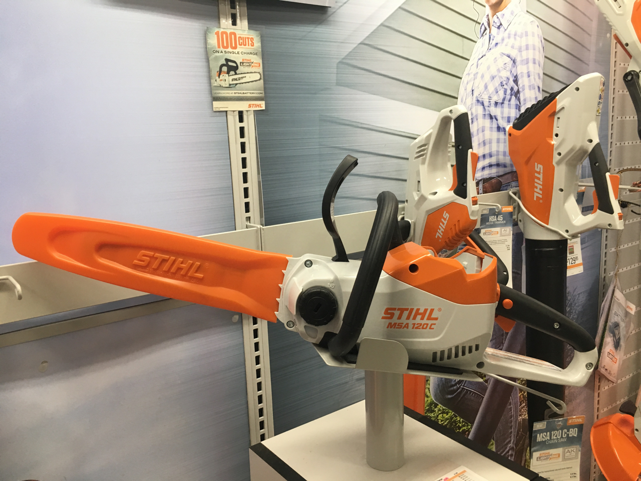 Chainsaws, weed wackers -  oh my! Great gifts for any homeowner!