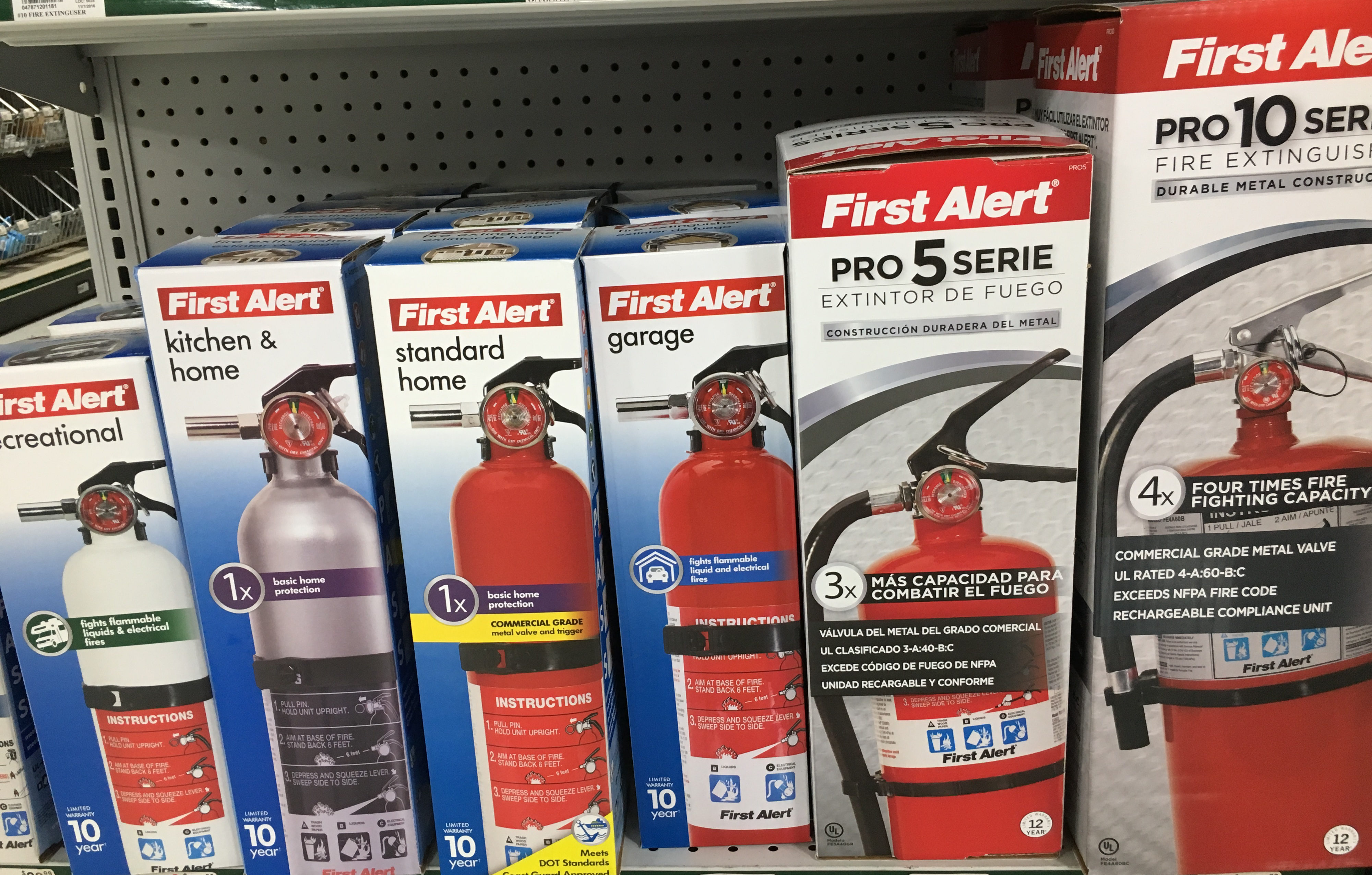 Fire extinguishers can save lives and property