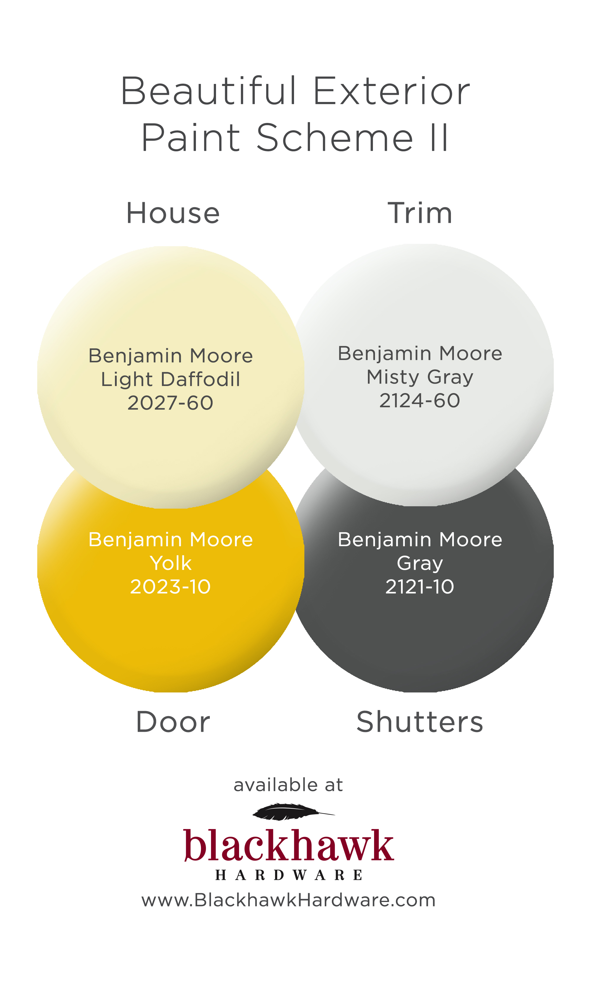 Beautiful Benjamin Moore Exterior Paint Scheme