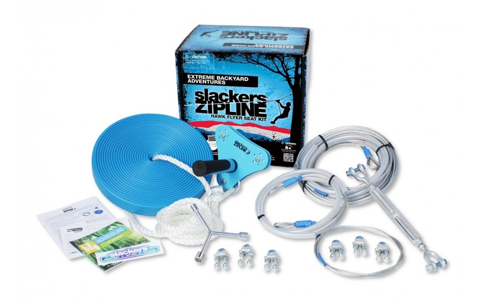 Have your own backyard zipline with this all in one kit!
