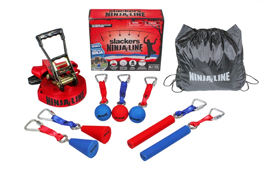 The Ninja Line Kit contains everything you need to train like a Ninja! Available at Blackhawk Hardware.