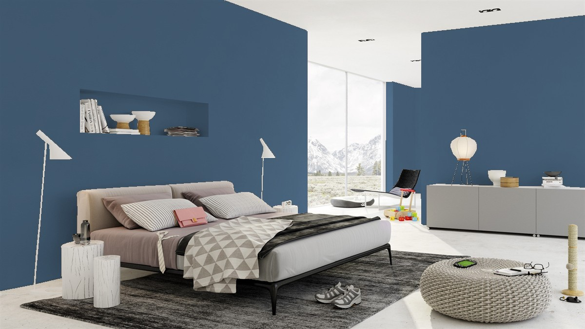 Indi Go-Go: The best blue paint coors by Benjamin Moore