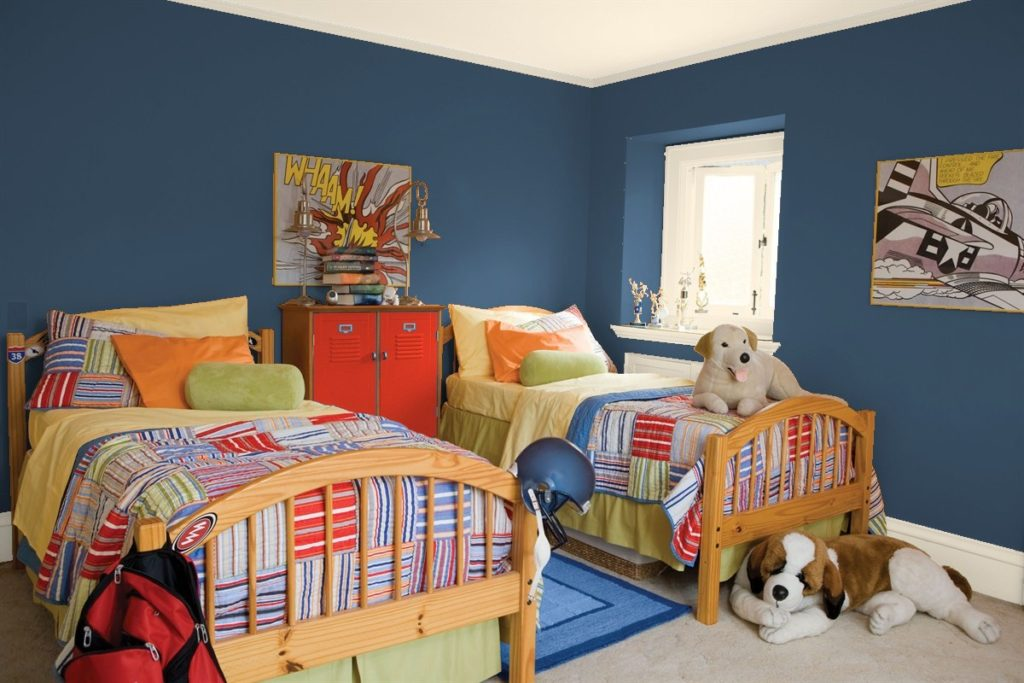 Indi Go-Go: Best Blue Paint Colors by Benjamin Moore