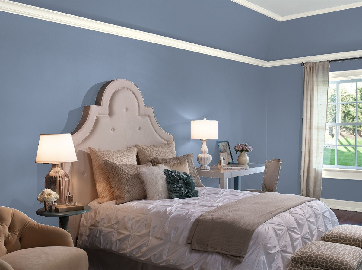 Our Favorite Blue Bedroom Paint Colors By Benjamin Moore Blackhawk