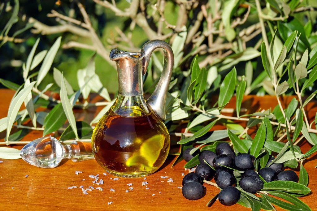 Dr. Bronner's Liquid Castille Soap is made out vegetable oils like olive oil.
