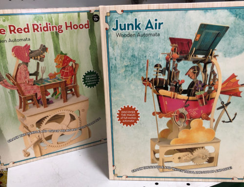 New Clockwork Dreams Vintage Automata Sets