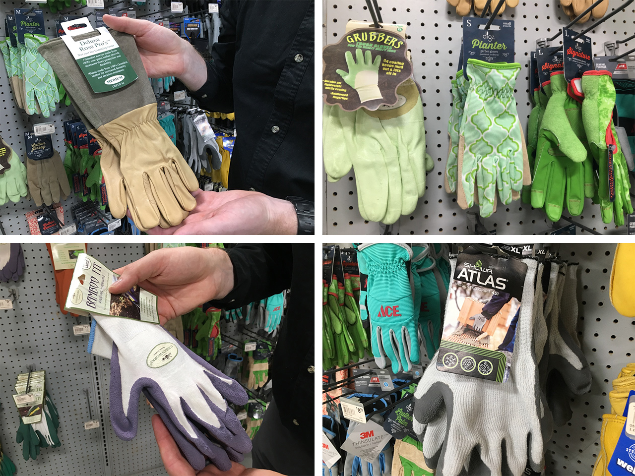 Some of our favorite gloves for yard work