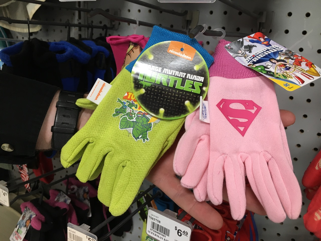 Gardening gloves for kids