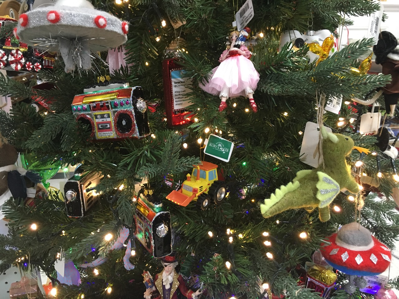 2018 Christmas Trees at Blackhawk Hardware