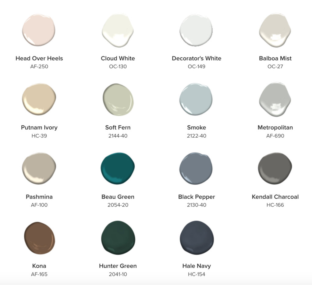 The Benjamin Moore Color Trends for 2019 are all about harmony