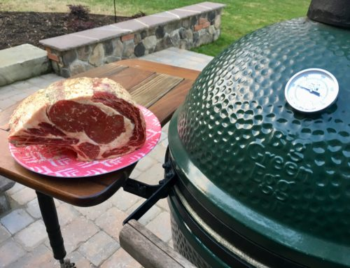 Cooking Prime Rib on The Big Green Egg